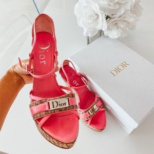 Authentic Dior Wedges